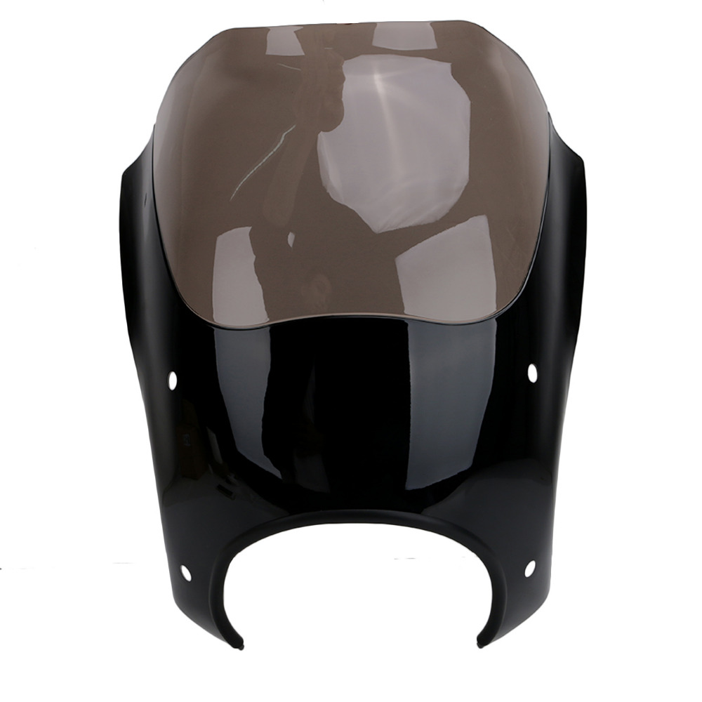 for harley fairing road king flhr 1994 2017 amber black front fairing case motorcycle accessories mbj128 in full fairing kits from automobiles motorcycles  [ 1000 x 1000 Pixel ]