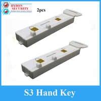 2 teile/los S3 Handkey Eas Magnaetic Display Haken Detacheur s3 Schlüssel für Sicherheit Stop Lock Spinne Wrap Aufhänger Sensor Detacheur