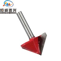 90 6mm Shank 90 Degree Tungsten Steel Router CNC Engraving V Groove Bit 6x22mm (3)