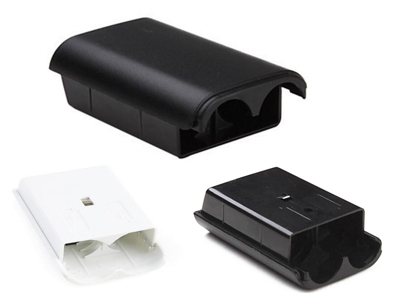 AA Battery compartment Pack Cover Shell Shield Holder Case Kit for Xbox 360 Wireless Controller