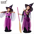 Halloween Cosplay Girls Dress for kid children's birthday party dance bat costume hat children clothes suit baby girls dress