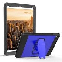 HOTR Kickstand Cover For Ipad Mini 1 2 3 Case Hard PC Rubber Tablet Holder Case