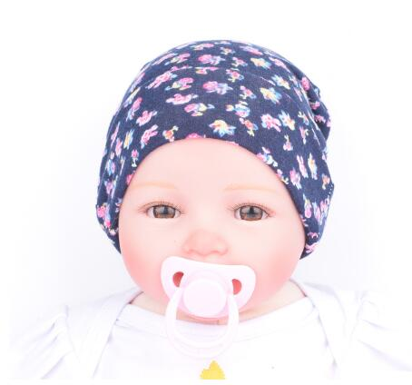 on sale Baby Flower accessories Girl Toddler Infant Children Cotton Floral  Hat Cap Newborn Hats Baby Beanies Cap Hospital Hat 2594d487c638