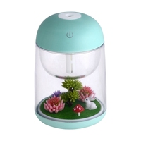 Mini Air Humidifier Ultrasonic Humidifier USB Humidificador For Car Home Appliances Essential Oils For Aromatherapy Diffusers