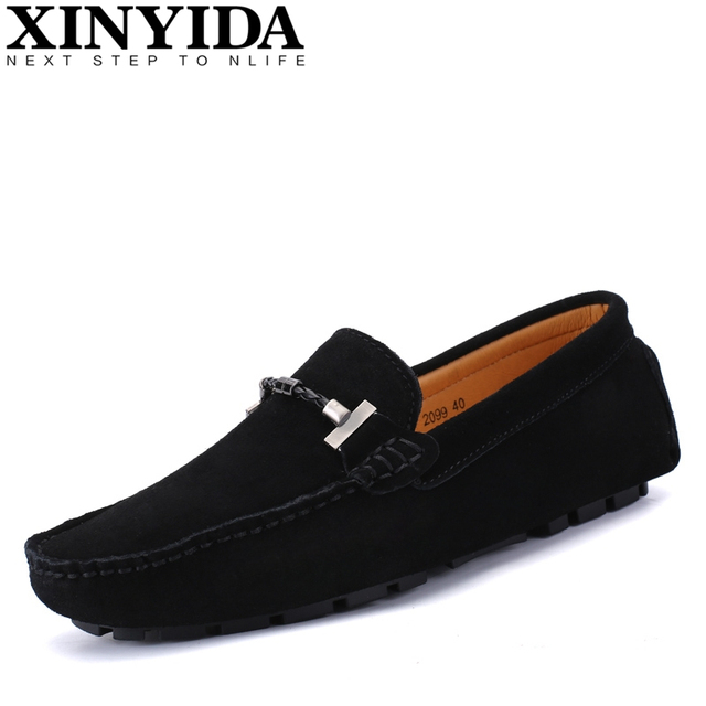 31d24dcafb0 Hot Sale 100% Handmade Genuine Leather Men Loafers Fashion Slip-on Driving  Shoes Men Moccasin Boat Shoes Comfy Casual Men Flats