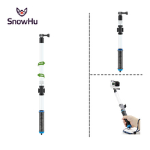 Waterproof Diving Floating Extension Pole Float Floaty 62cm Monopod With WIFI Remote Clip For Gopro Hero 4S 4 3+ 2 1 GP239