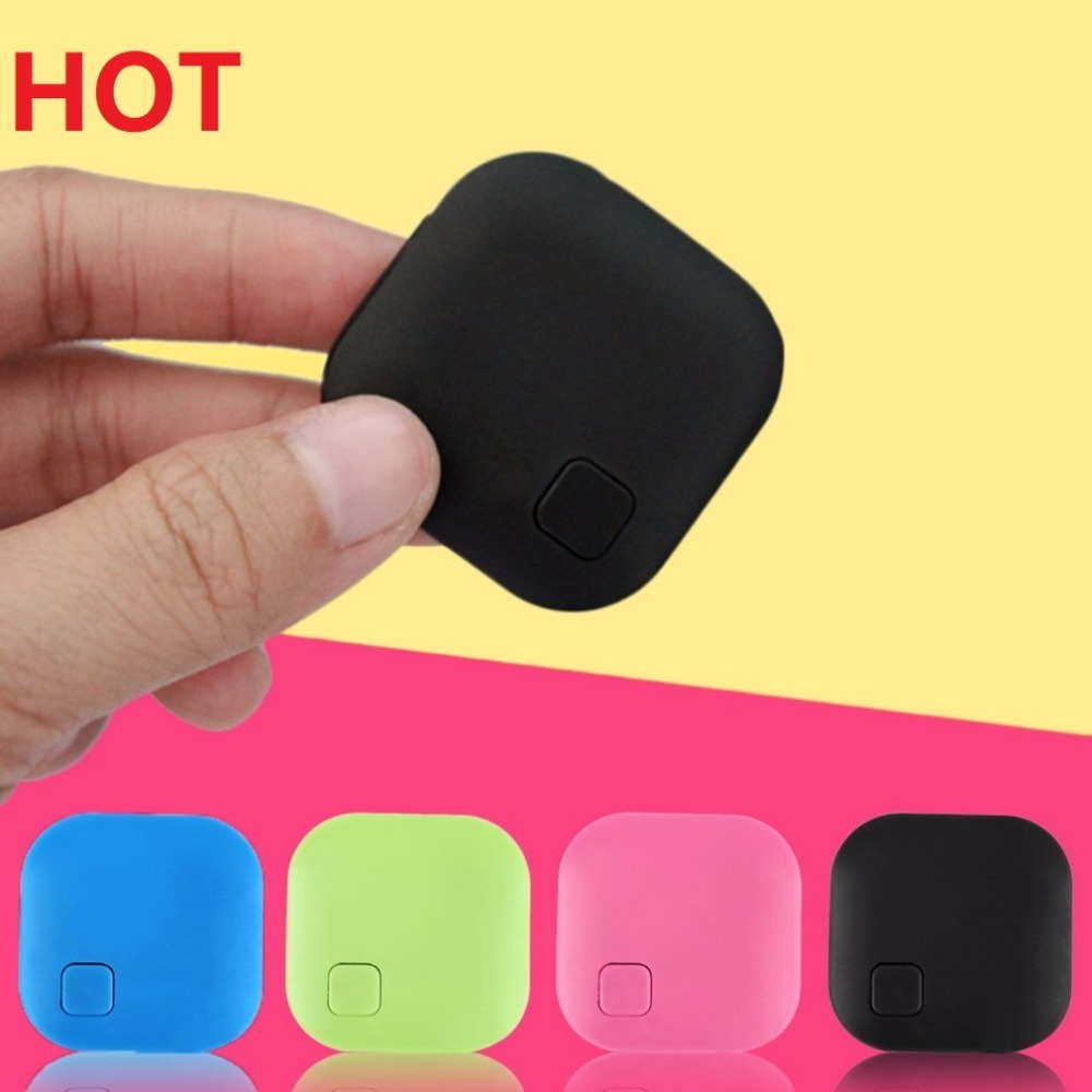1pacs Wireless Smart Anti Lost Bluetooth Smart Finder Tag Tracker Wallet Key Tracer Aniti Lost Locating Tool anti-lost device sound activated 433 92mhz 1 to 1 wireless key finder blue black 1 x cr2032