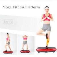 Вибрации Plate messager вибрации всего тела плиты платформы Фитнес машина тренировки тренер десятки Мощность Фитнес сообщение