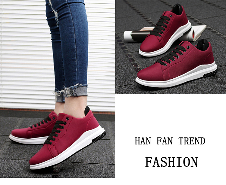 Stretch Fabric Casual Shoes Woman 2017 Fashion Spring Lace Up Ladies Shoes Breathable Women\'s Vulcanize Shoes Superstars ZD68 (25)