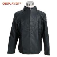 Smallville Superman Black Jacket Costume