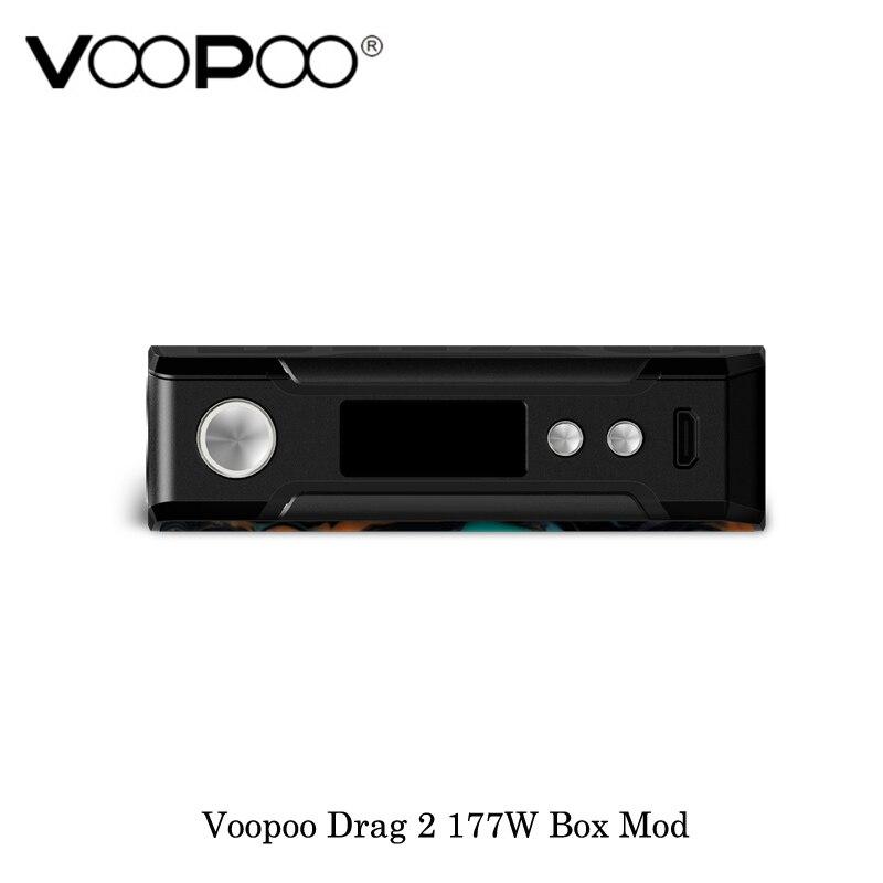 Cigarette électronique Voopoo Glisser 2 177 w TC Boîte Mod GÈNE. FIT Puce Alimenté Par Double 18650 Batterie Vaporisateur Vaporisateur Kit VS VOOPOO 157 w - 4