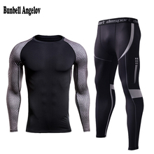 Bunbell Angelov Winter Thermal Underwear Sets Quick Dry Anti-microbial Stretch Men's