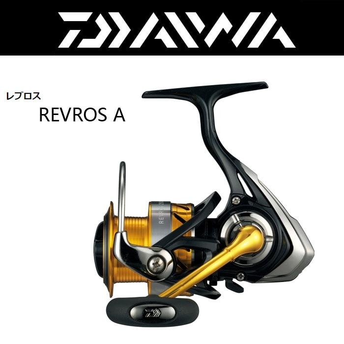 NOVA Daiwa Revros A 2000 2500 2506 3000 H 3500 4000 Rolamento De Esferas Molinete De Pesca carretel de Água Salgada FRETE GRÁTIS