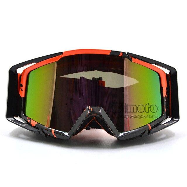 31c55ef9d50b1 BJMOTO Motocross Corrida Off-Road Óculos Óculos de Proteção Anti-Nevoeiro  óculos de Esqui