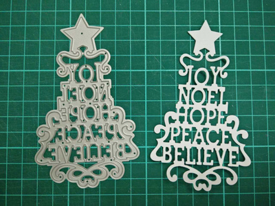 Large Christmas tree Metal Die Cutting Scrapbooking Embossing Dies Cut Stencils Decorative Cards DIY album Card Paper Card Maker m word hollow box metal die cutting scrapbooking embossing dies cut stencils decorative cards diy album card paper card maker