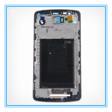 AAA Original For Lg G3 D850 D855 Front Lcd Holder Frame Housing cover cover repair parts With Tracking Number