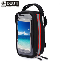 Duuti outdoor cycling mountain road bike bag bicycle frame tube panniers waterproof touchscreen phone case reflective.jpg 250x250
