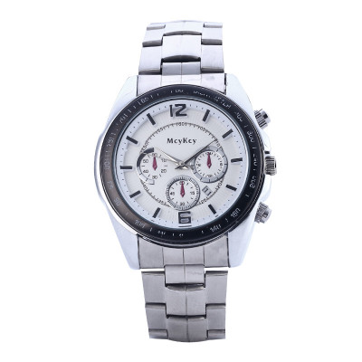 New Brand Quartz Watches Men Top Quality Stainless Steel Waterproof Sports Watch Casual Business Wristwatches Relogio Masculino in Quartz Watches from Watches