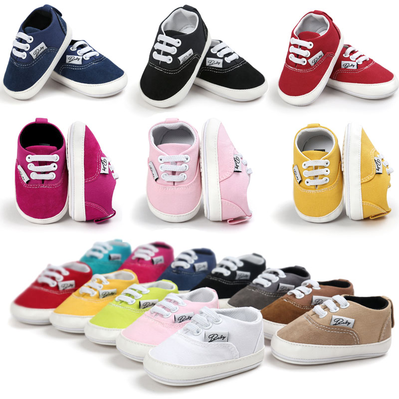 Spring Autumn Baby Newborn Shoes Girl Boy Baby Moccasins Soft Sole Crib Shoes Toddler Infant Shoes Casual Prewalker Sneaker