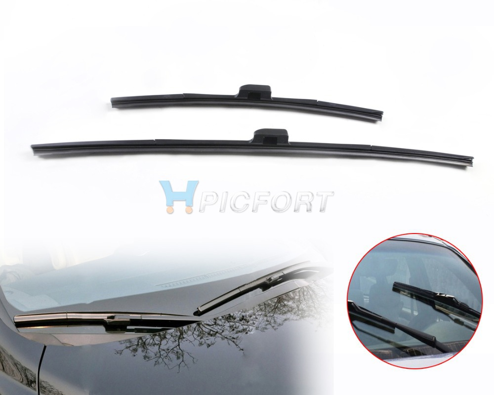 Citall 26 17 frameless steel rubber rain window windshield wiper blade for honda