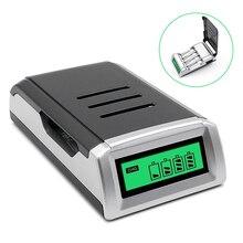 Charger Batteries Aa Aaa Ni-Mh Smart Ni-Cd for C-D Eu/us/uk-plug LCD Universal