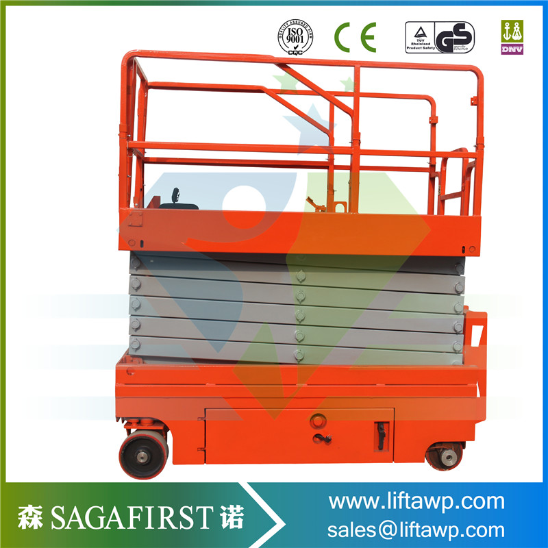 US $7500 0 |6m to 12m battery operated driveable scissor man lift platforms  on Aliexpress com | Alibaba Group