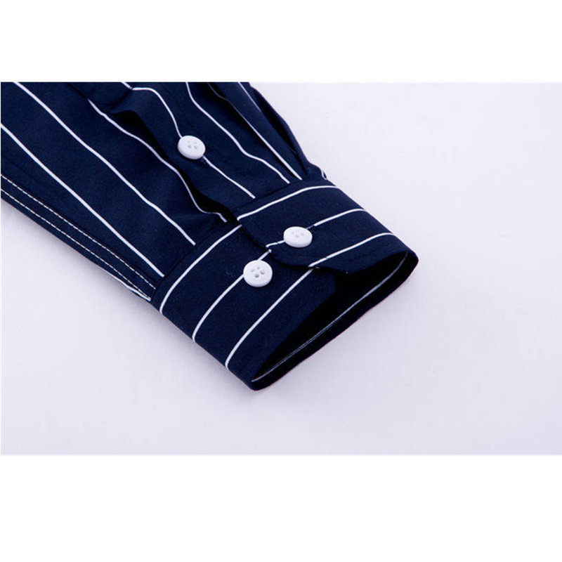 fc2be4bb8bd ... Casual Long Sleeved Striped Shirt Slim Fit Male Social Business Dress  Shirt Brand Man Soft Comfortable Shirts YN10322. -24%. Click to enlarge