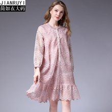 61b44607c2c 2018 Winter Woman Lace Dress Plus Size Christmas Maternity Clothes Casual  Pregnancy Dress Elegant Evening Dress