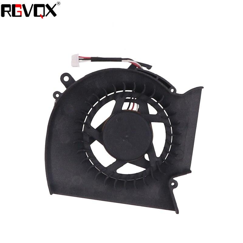 Купить с кэшбэком New Laptop Cooling Fan For samsung R530 R580 R528 R540 Original P/N KSB0705HA DFS531005MC0T CPU Cooler Radiator