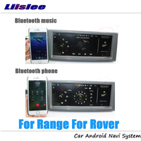 Liislee автомобильное мультимедиа андроид для диапазон для Rover L322 2000 ~ 2012 радио Видео Wi Fi стерео gps карта навигатор навигации Системы No DVD