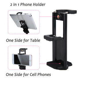 Image 5 - 55inch Phone/Camera Tripod Professional Portable Travel Aluminum Tripode with Phone Holder for iPhone iPad Mobile Dslr Movil