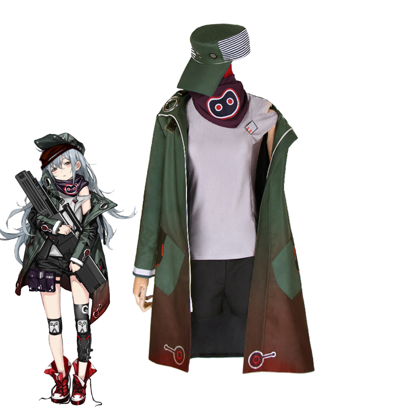 Игры для девочек Frontline G11 Косплэй костюм Для женщин прохладно и повседневная одежда на Хэллоуин карнавальный форма индивидуальный заказ