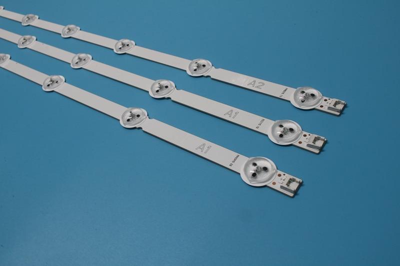 NEW!!FOR LG 32 Inch LCD Back Light 6916L-1204A 1205A 1437A 1438A 1105 1205 (1set=3piece 2PCS 7 LED 1PCS 8LED)