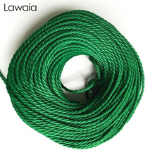 Lawaia Fishing Rope Net Special Drawstring Green Pull High Strength Polyethylene Flat Wire PP Gear Tool