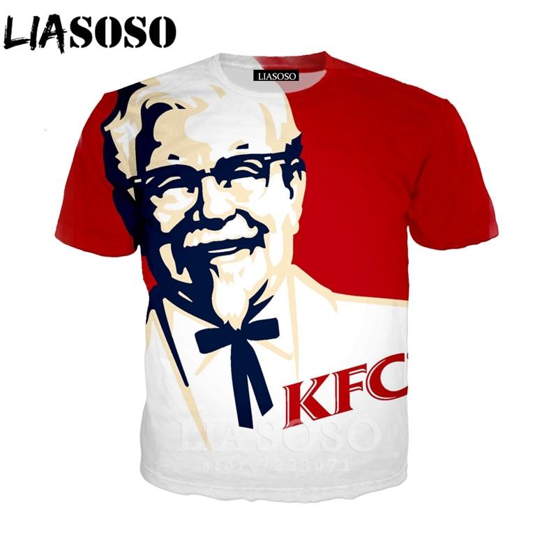 KFC Unisex US shirt size S to 5XL