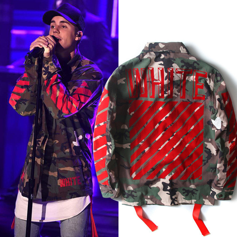 off white yeezy jacke