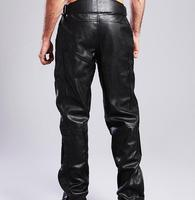 DUHAN motorcycle pants DK05 Moto Racing trousers motorbike Riding pant good PU leather Waterproof CE protector