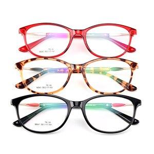 Image 5 - Gmei optyczne Trendy Ultralight TR90 owalne pełne obręczy kobiet oprawki do okularów korekcyjnych dla kobiet krótkowzroczność okulary prezbiopia M041