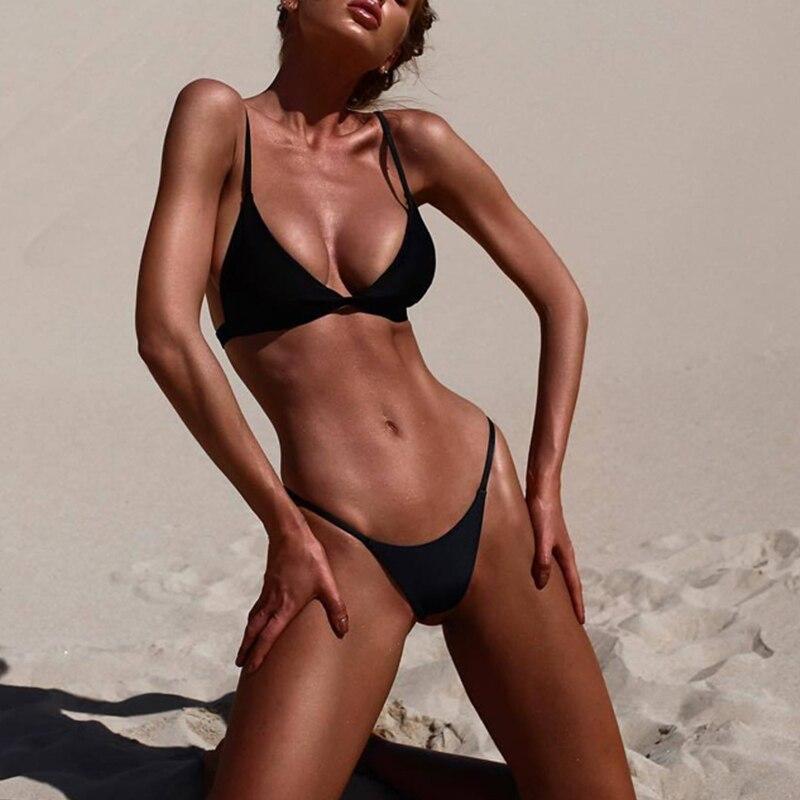 Sexy Bikini 19 Push Up Micro Bikinis Women Swimming Suit Brazilian Bikini Set Swimsuit Swimwear Women Bathing Suit Beachwear 9