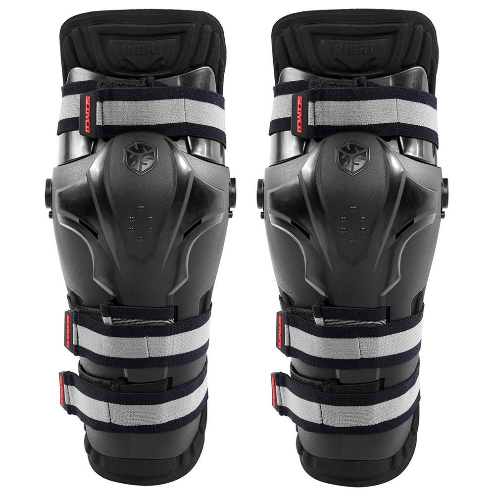 Scoyco K19 Motorcycle Auto Racing PP Shell Knee Pads Outdoor Sports Protective Motocross Off Road Protection Guards