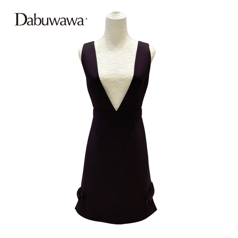 Dabuwawa Black Winter High Waist Zipper A-line Skirt Ladies Casual Streetwear Mini Skirt Short Suspender Skirt #D16DDX011 dabuwawa autumn women fashion sexy plaid skirt elegant mini pleated skirt short streetwear asymmetrical skirt d17csk031 page 2