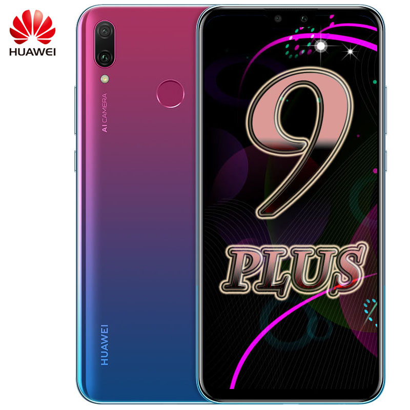Global ROM Huawei Y9 2019 Smartphone 6 5 inch Hisilicon Kirin 710 Octa Core  Android 8 1 4000mAh Enjoy 9 Plus Cell Phone