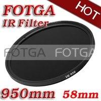 Comercio al por mayor IR Filtro 58mm 950nm de Infrarrojos Rayos X IR Filtro de paso 58mm-950nm