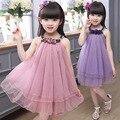 Дети Девушки Одеваются 2017 Новый Детей Летом Платье Принцессы Платье Принцессы 2-12 Лет
