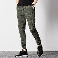 2017 Mens Summer Army Casual Harem Pants Men Joggers Male Camo Pants Military Long Trousers Elastic