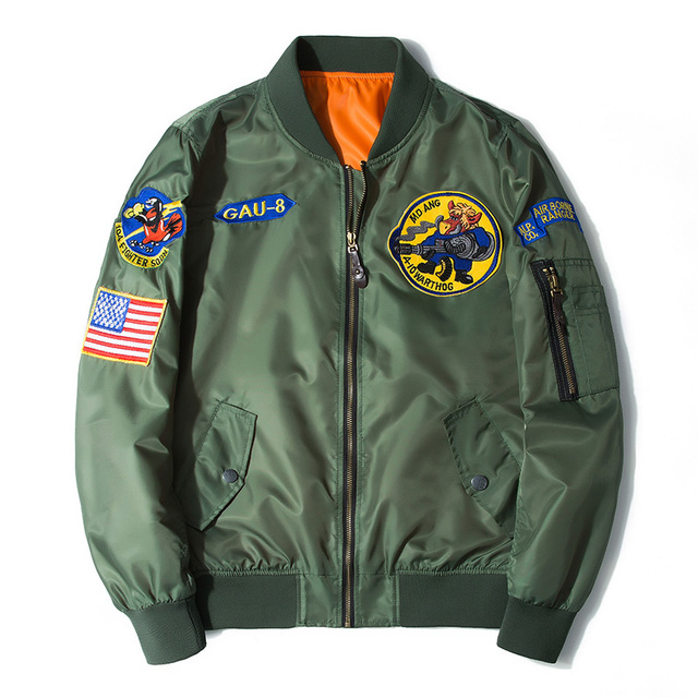 Aliexpress.com : Buy 2017 New Couple Bomber Jacket Embroidery ...