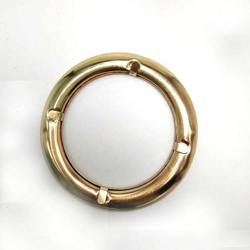 3 inch inner diameter metal Round purse handle Round Eyelet bag handle