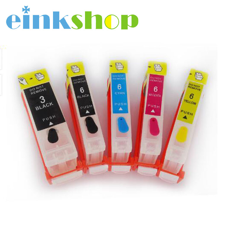 Einkshop BCI 3 6 Empty Refillable Ink Cartridges BCI3 BCI6 for Canon BCI-3 BCI-6 For IP3000 550i MP700 MP730 S400