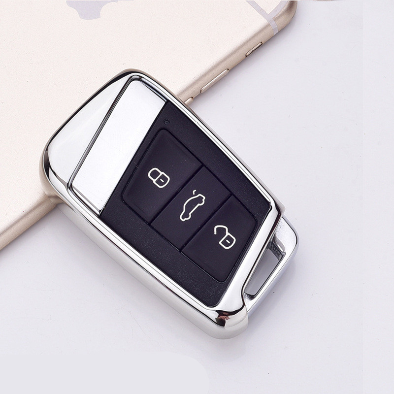Image 2 - Soft TPU Protection Remote Key Cover Case For Skoda Superb A7 For Volkwagen Passat B8 VW Golf Gte Car Styling Accessorise-in Key Case for Car from Automobiles & Motorcycles