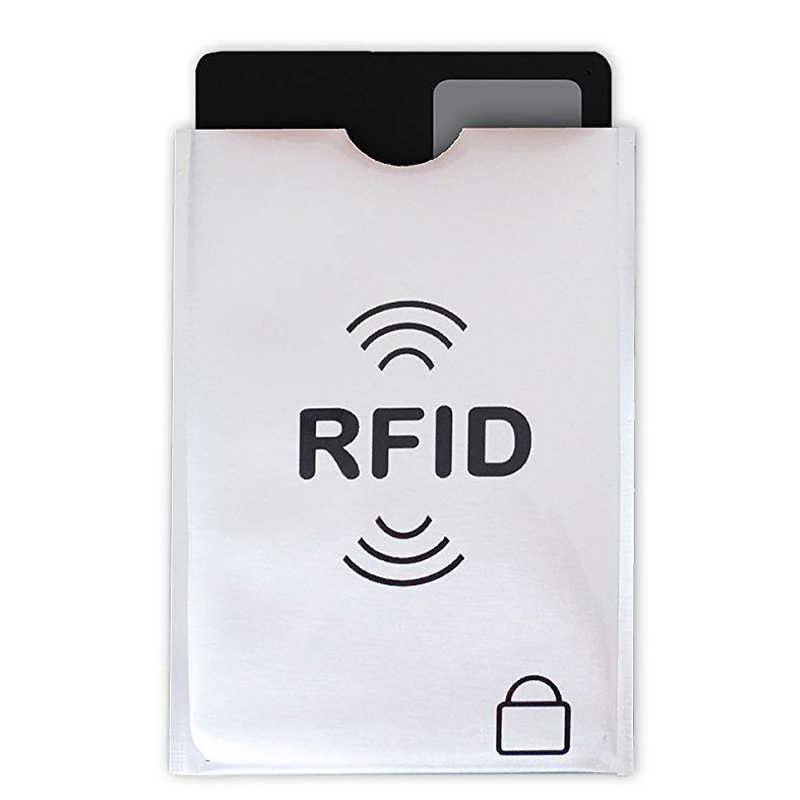 12 шт RFID Блокировка рукава Противоугонная RFID визитница RFID Блокировка рукав идентификация 10 Кредитная карта 2 паспорт кошелек карман